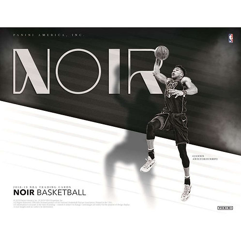 2018-19 NOIR NBA 4-Box Case