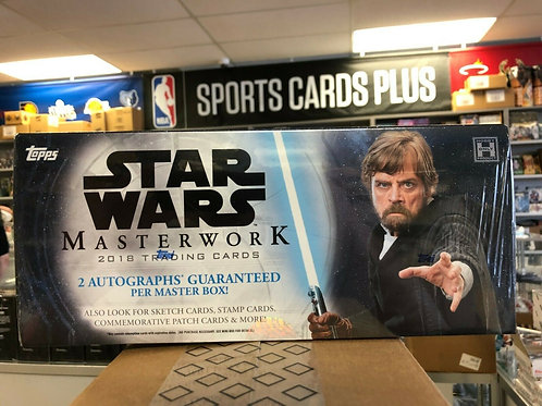 2018 Star Wars Masterwork Hobby Box