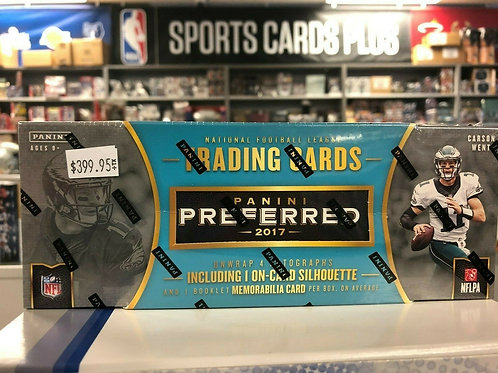 2017 PREFERRED NFL Hobby Box