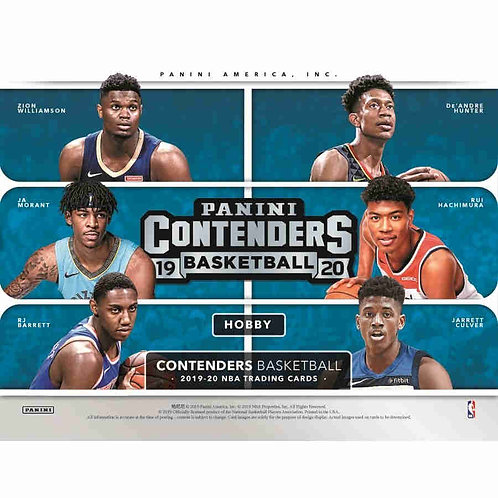 2019-20 CONTENDERS NBA 12 Box Case