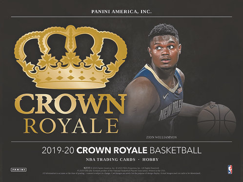 2019-20 CROWN ROYALE NBA HOBBY Box