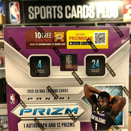 2019-20 Prizm NBA Retail 24 Pack