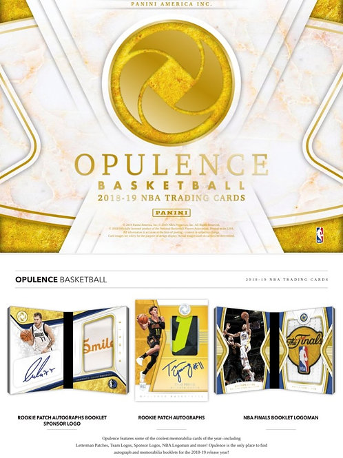 2018-19 OPULENCE NBA 3 BOX CASE