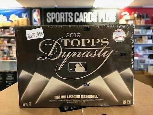 2019 Topps Dynasty MLB Box