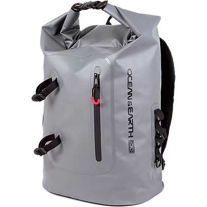 O & E Ocean and Earth Wet Suit Backpack Gray