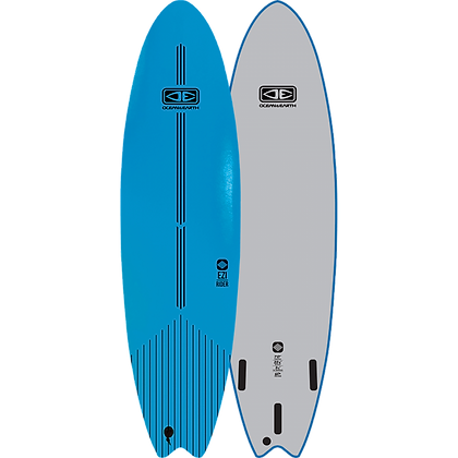 O & E 6 ft EZ Rider Soft Top Blue