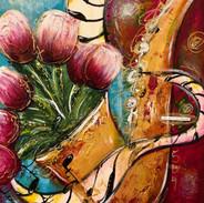 Tulips in Jazz Sax