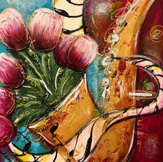 Tulips in Jazz Sax