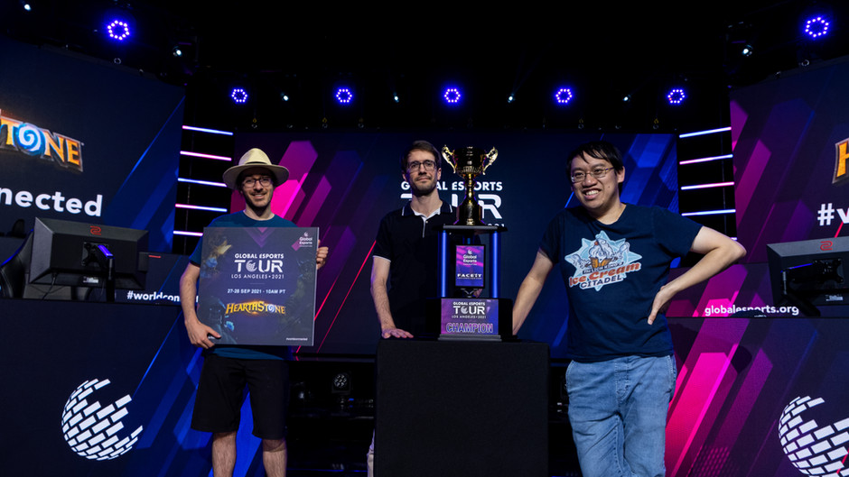 Nerves and nostalgia for professionals at first Hearthstone® event in two years