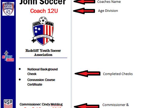 Coaches Security Badge