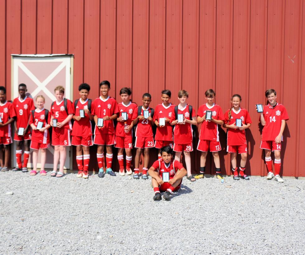 Revolution 14U Runner Ups