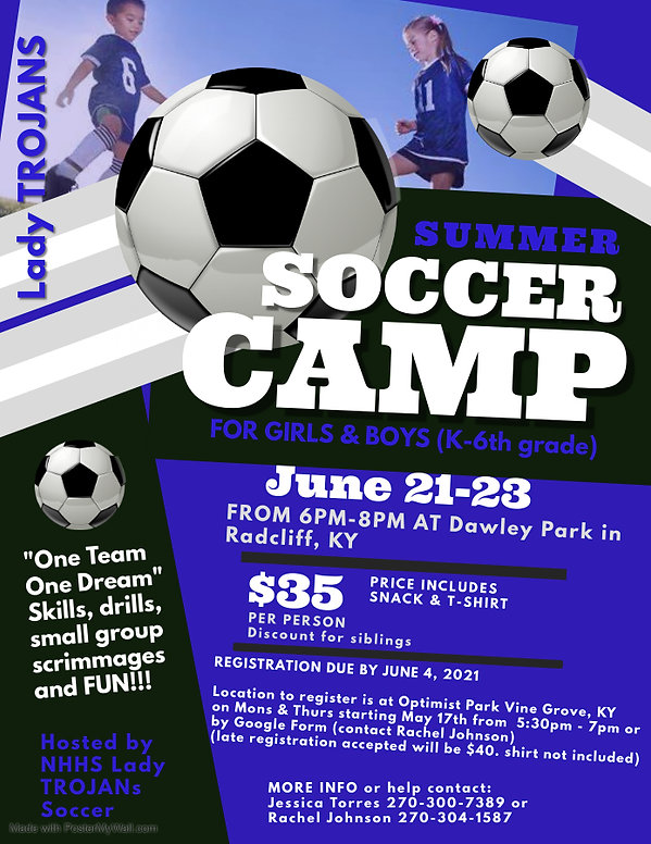 Copy of Soccer Camp Flyer Template