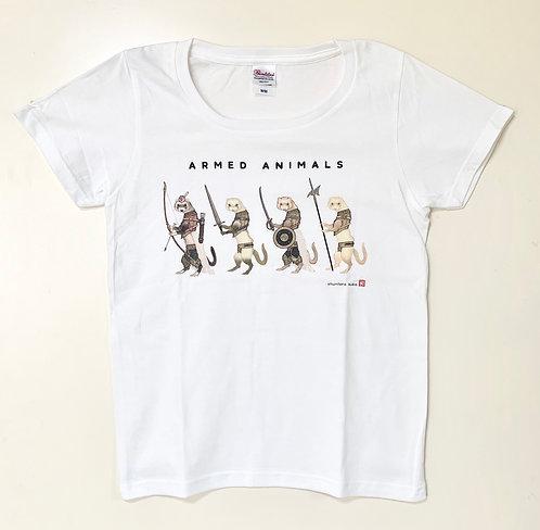 Tシャツ「歩兵/フェレット」