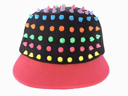 Bubble Gum Spikes Snap Back