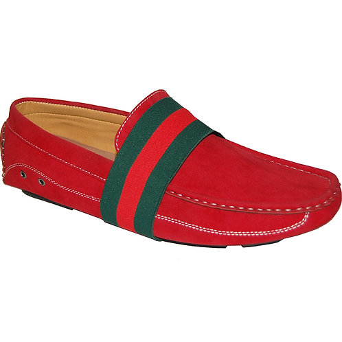 Men Of The House Red Casual Slip-On