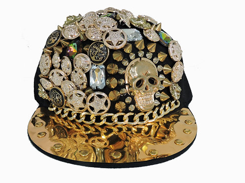 Skull King Snap Back