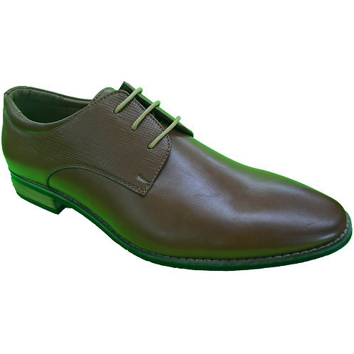Shoe Artists Coffee Lace Up Republic Collection Men's Footwear With Style