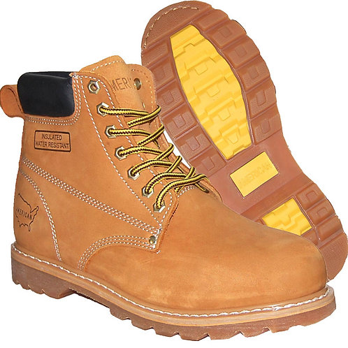 Allen Men's Soft Toe Work Boot