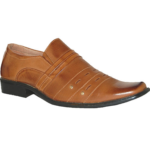 Crox Tan Men's Dress Shoe