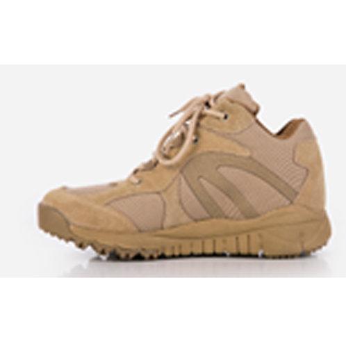 Tierra Men's 4 inch Leather Lace Up Beige Combat, Tactical Boot
