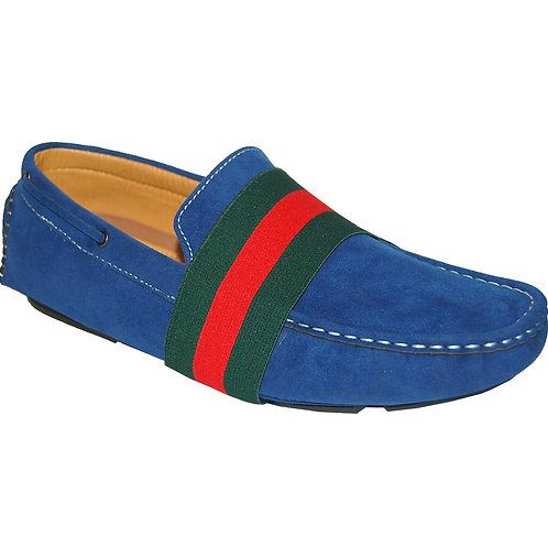 Crazy Blue Casual Slip-On