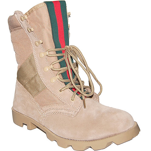 Rugged Men's Jungle Boot In Beige