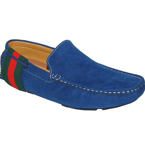 Back In Time Blue Casual Slip-On
