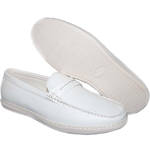 Fashion Styles White Casual Slip-On