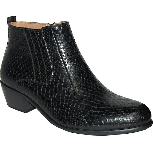 Stylish Crocs Skin Men's Cuban Heels
