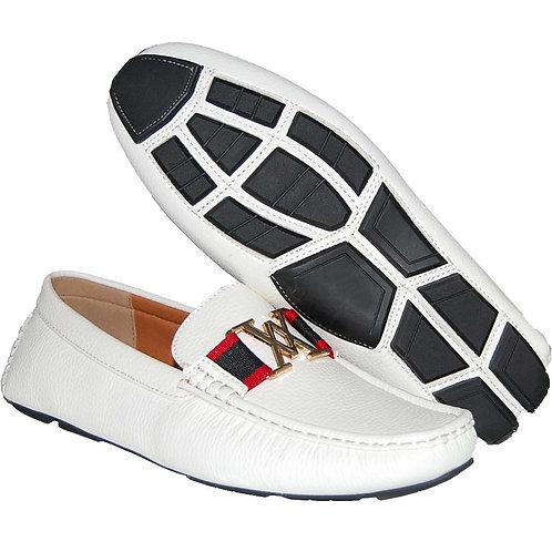 Fashion Styles White Casual Slip-On