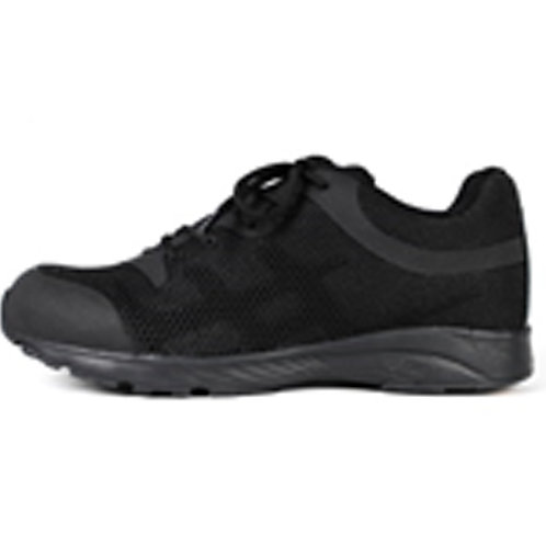 Men's 3 inch Lace Up Black Leather Tactical Shoe