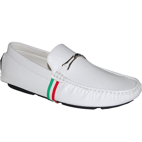 Snow White Men's Casual Slip-On Shoe
