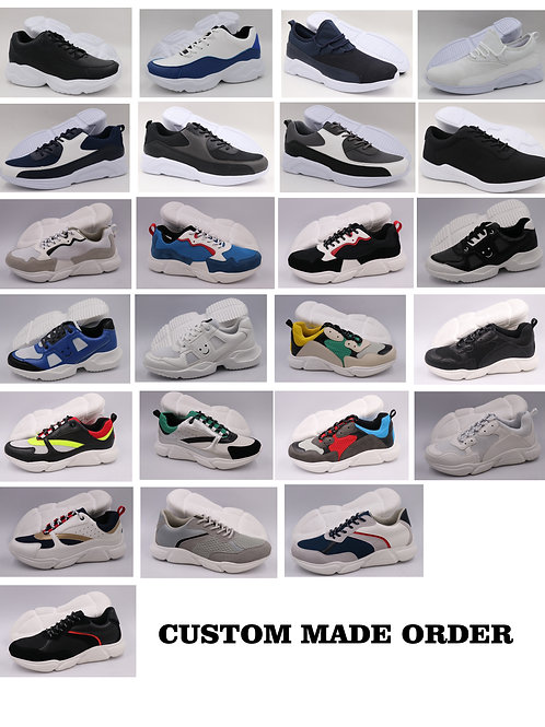 Let us design and make your shoes! By Krazy Shoe Artists