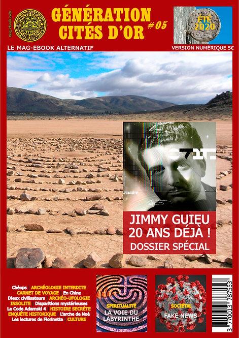 Génération Cités d'Or #05 ÉTÉ 2020 - Format Papier