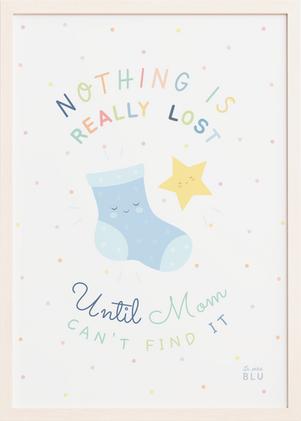 Mom star le petit blu nursery