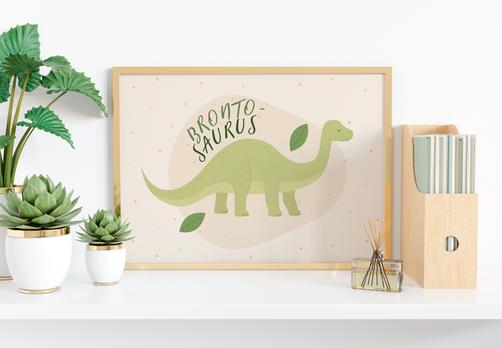 Brontosaurus, dinosaur art