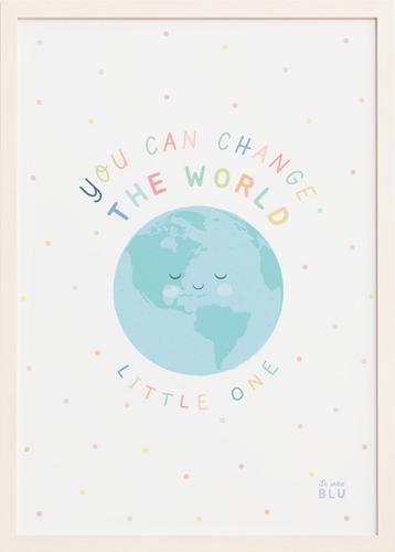 Change the world le petit blu