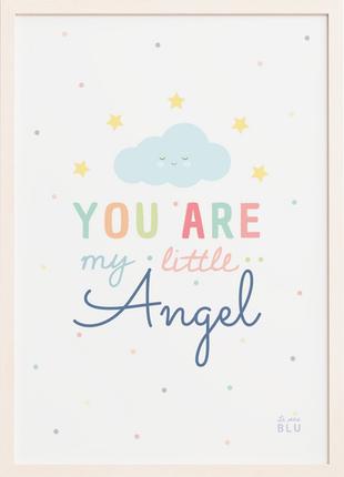 Cloud, angel, nursery, le petit blu
