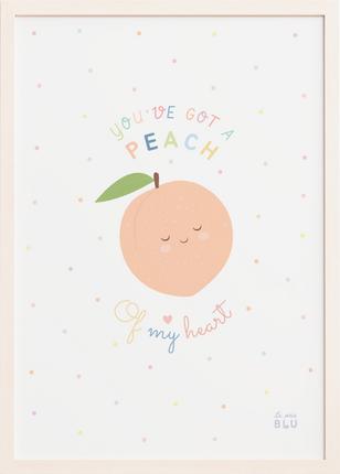 Cute Peach, le petit blu by Sabrin Deirani