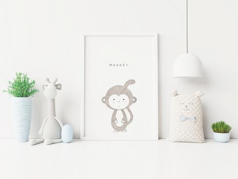 Monkey by Sabrin Deirani