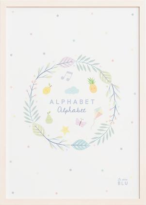 Alphabet, le petit blu