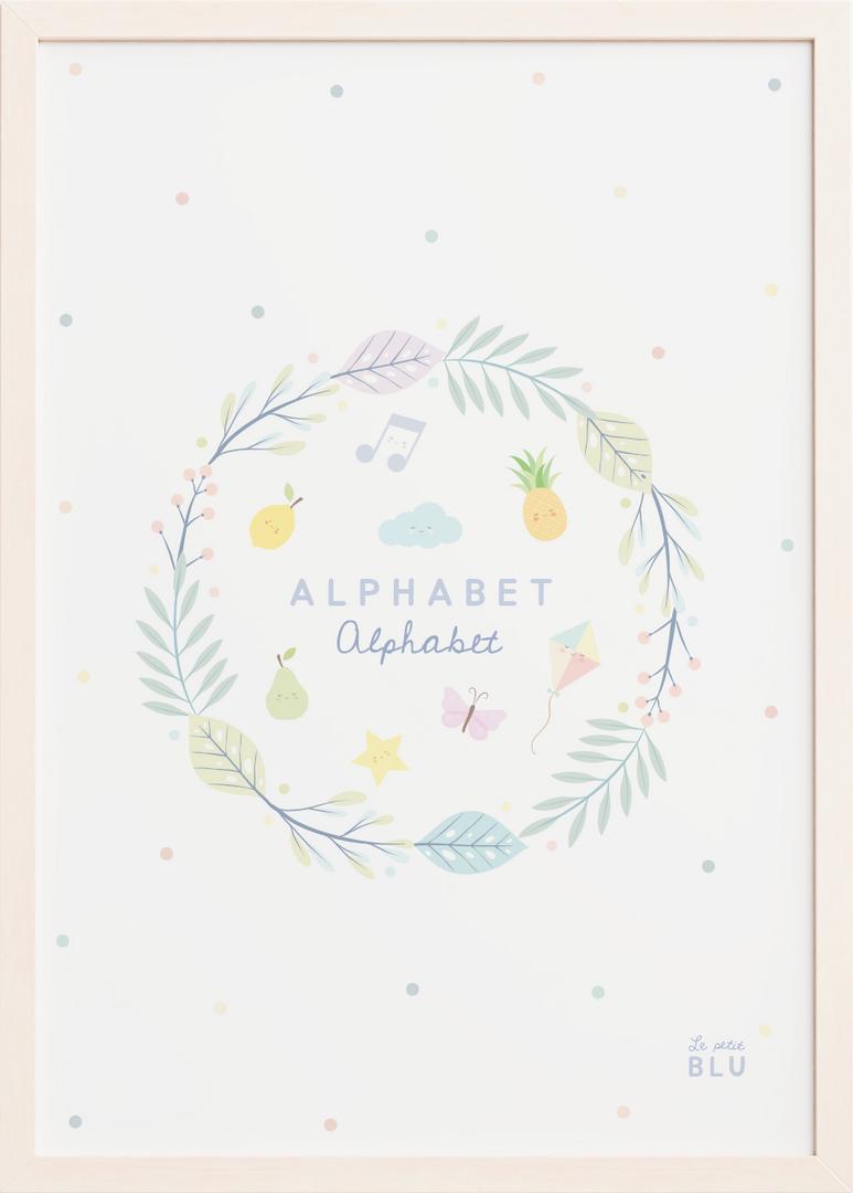 Alphabet le petit blu
