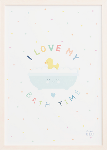 Bath time le petit blu