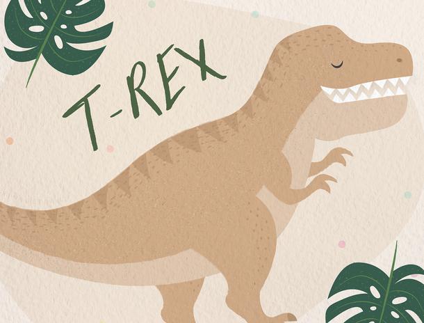 T- Rex illustration