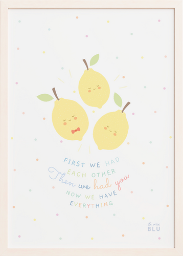 Lemons, family, le petit blu