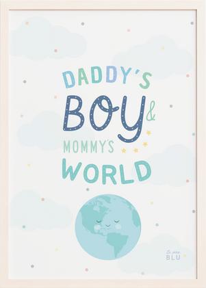 World, daddy, boy, nursery, le petit blu