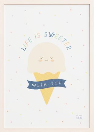 Ice cream le petit blu by Sabrin Deirani