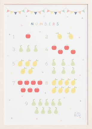 Numbers le petit blu by Sabrin Deirani