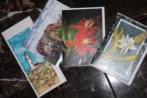 Multi Pack of 4 Greeting Cards