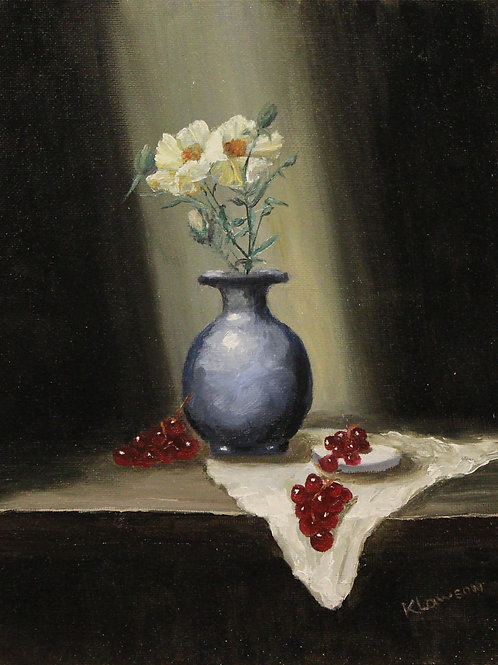 White Poppies & Grapes
